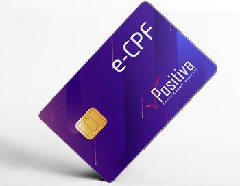 e-CPF - Positiva Certificado Digitais