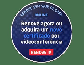 Renove agora On-line por vídeo conferência - Positiva Certificados